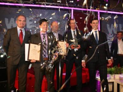 De winnaars van de ondernemersprijs in Leiderdorp