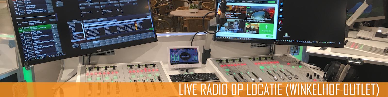 Liveradio op locatie