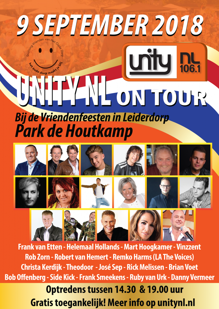20180909 Unity NL on Tour