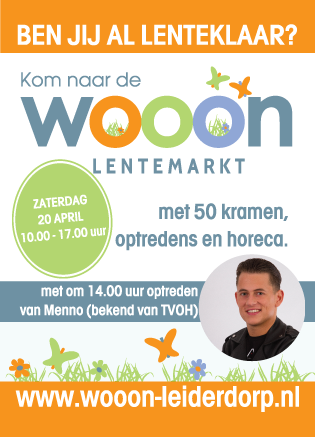 Wooon Lentemarkt Flyer a6