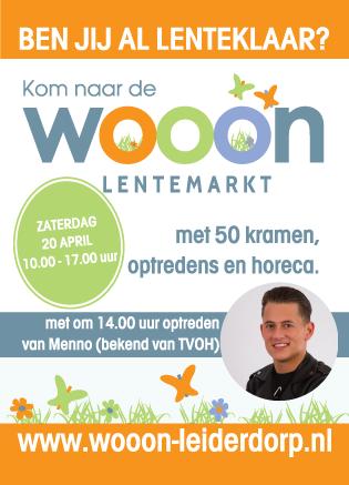 Wooon Lentemarkt Flyer a6